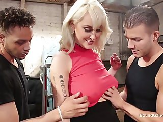 Horny Movers Gangbang Maxim Law