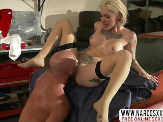 Grumpy Not Mother Kleio Valentien In Stockings Loves Slow Fuck