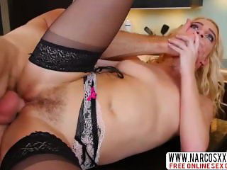 Quiet Mother-In-Law Cadence Lux In Stockings Wants Hard-Core Cock