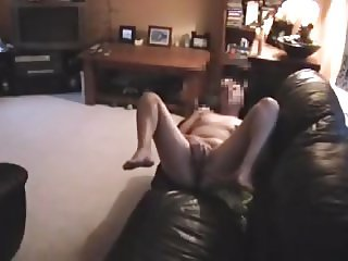 Young wife caught masturbating after bath
