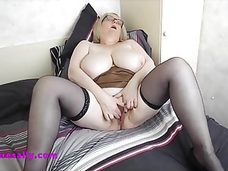 Granny has a big and ready snatch for you