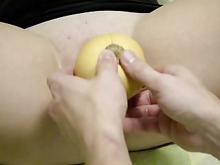 Midwest Wife Pussy Stretching and Fisting sex