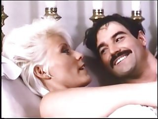 Vintage hubby-wife turned on by porn