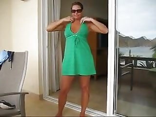 Mature holiday strip and play