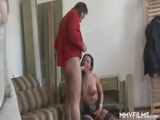 German Cougar Cheating With Colleague