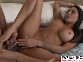 Blunt Step-Mom Lela Star In Stockings Likes Strong Fuck