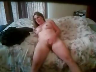 Dad Interrupts Jen masturbating in bed