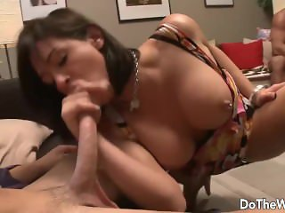 Hot wife Tori Lane loves other mans cock