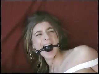 Dumb sex slave Veronica Stone gets an enema by Natali Demore