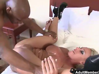 AdultMemberZone - Big Titted Milf craves huge black cock