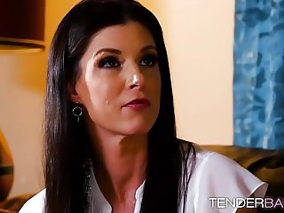 Hot babe Alison Rey makes scissoring with horny India Summer
