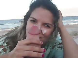 facial on the beach