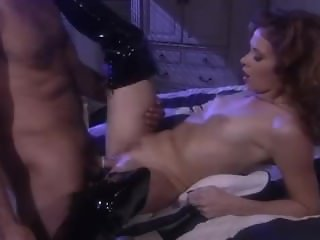 Submissive dude spanked hard by mistress