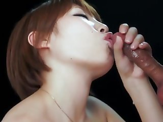 Japanese Schoolgirl Slow Motion Blowjob