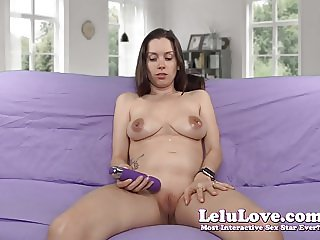 Lelu Love-Spitting On My Pregnant Tits Belly Masturbation
