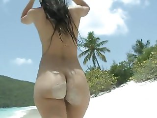 Beautiful Big ass walking