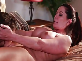 Sensuous Lesbians, a Milf and Teen