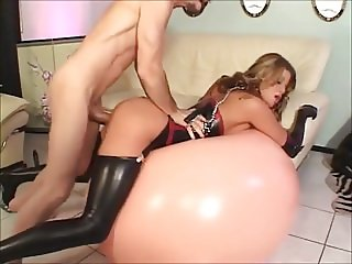 Hot young Monica gets tight holes pounded hard by master