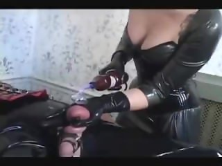 Cybill Troy CBT On Bound Slave