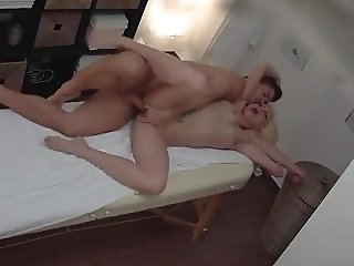 Blonde Fuck in a Massage Parlor