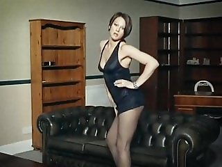 I DANCE YOU WANK 5 - striptease JOI dildo play