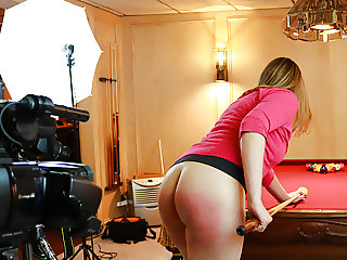 Spanked on the Movie Set
