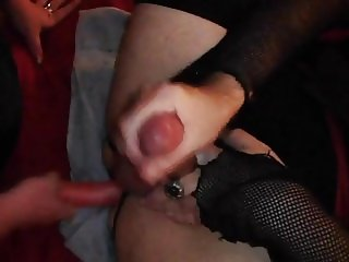 My wet sissy pussy dildoed then I cum