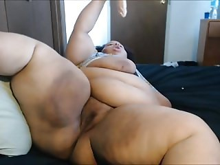 Young BBW Chillin And Playing Around