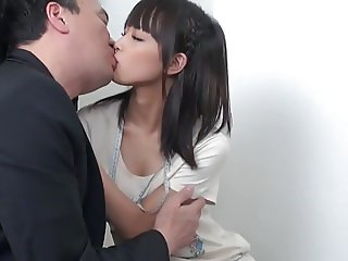 Juicy creampie for the skinny jap girl