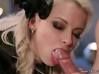 She Uses Her Mouth And Tongue