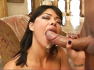 Latina MILF Deepest Possible Anal