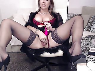 sirena99 in black stockings