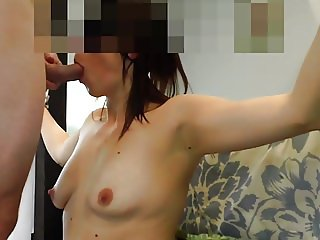 Moanin Mrs Grey - hands tied & mouth used by cock