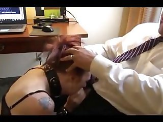 Old fart takes Adventsonntage of collard cock whore