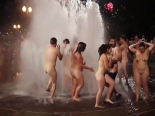naked bike ride after party