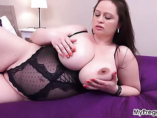 Sirale Slowly Strips and Fucks Her Hot Pussy!