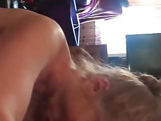 Granny interracial blowjob Jan before brunch 2