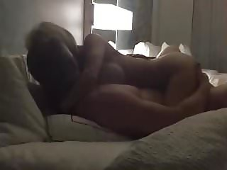 Hotwife riding lover