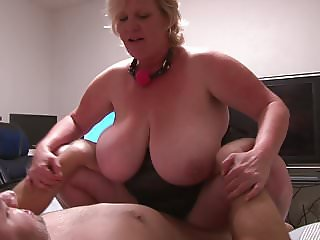 Huge Tit Big Booty Mature Blonde Anal Abuse