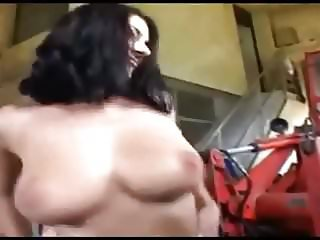 Big Natural Tits German Orgy