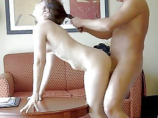 Ken fucking Mom in our hotel room