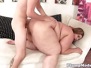 Busty bbw tittyfucked before doggystyle