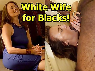 White Wife for Blacks!