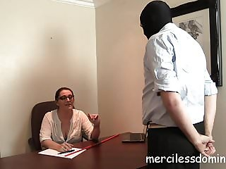 French Lesson - Strict Teacher  with Cane