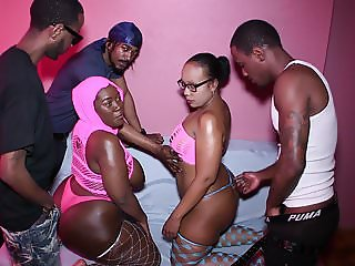 5 WAY BBW BIG BUTT FUCK PARTY
