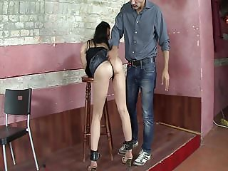She is my slave slut!