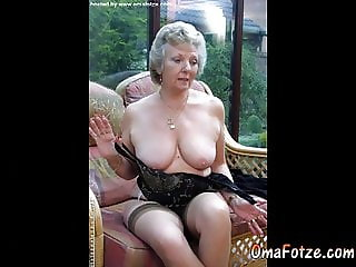 OmaFotzE Amateur Mature Granny Photos Slideshow