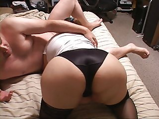 Mexican Granny Got Butt Fucked