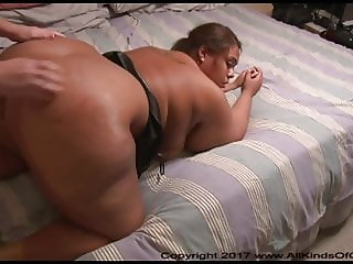 Your Big Booty BBW Latina Mom Gets Ass Fucked