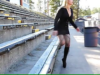 Sexy lady with Ballet Boots